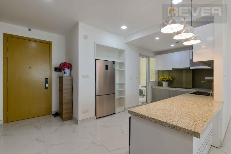 Bếp Căn hộ Vista Verde tầng cao 3 phòng ngủ, nội thất đầy đủ