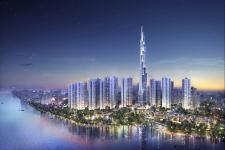 Chính thức cất nóc tòa nhà cao nhất Việt Nam The Landmark 81