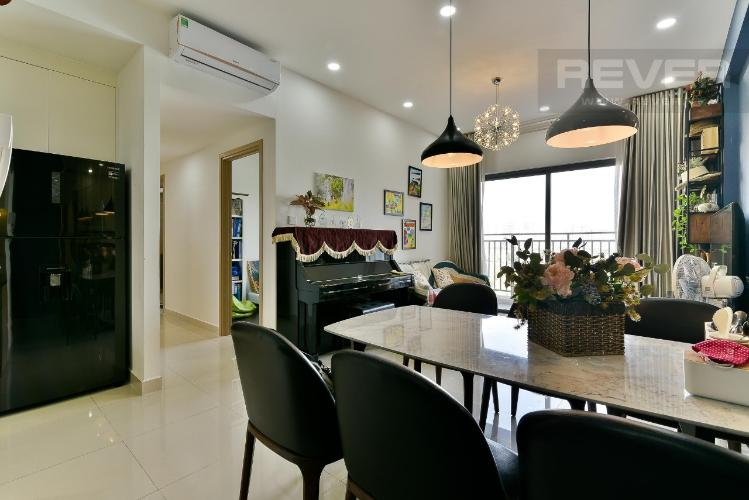 Phòng khách Căn hộ THE SUN AVENUE Cho thuê căn hộ The Sun Avenue tầng thấp, block 3, diện tích 89.7m2 - 3 phòng ngủ, đầy đủ nội thất