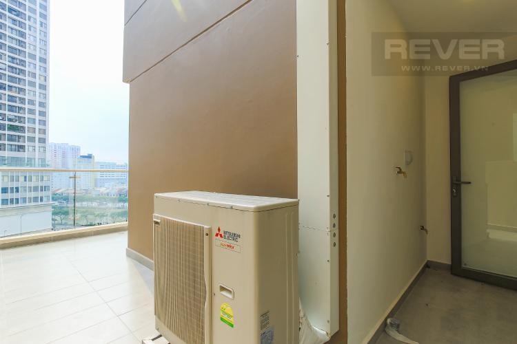 Logia Cho thuê căn hộ Masteri Millennium tầng trung, 2PN, có ban công