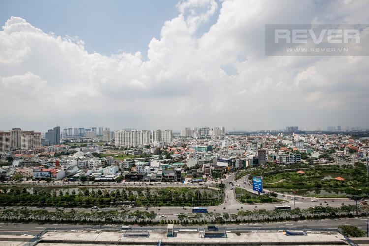 View rộng Căn hộ Thảo Điền Pearl 2 phòng ngủ tầng trung tháp A hướng Nam