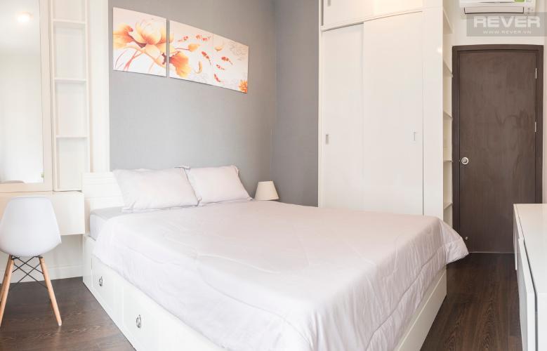 Phòng Ngủ Bán căn hộ The Tresor 2PN, tầng cao, diện tích 57m2, đầy đủ nội thất