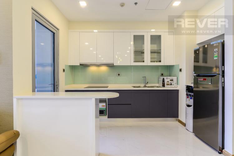 Nhà Bếp Căn hộ Vinhomes Central Park 3 phòng ngủ tầng cao P7 view sông