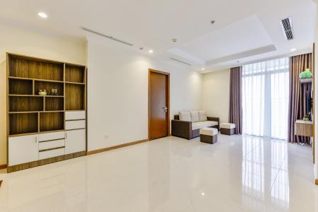 Căn hộ Vinhomes Central Park 3 phòng ngủ tầng cao L3 nội thất đầy đủ