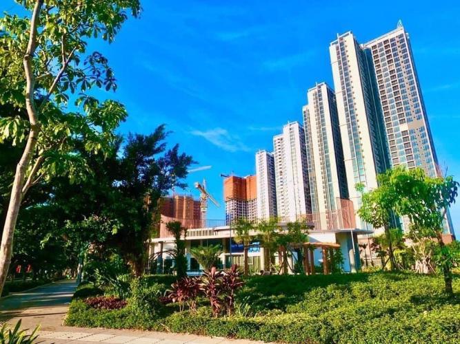Công viên  căn hộ Eco Green Saigon Cho thuê căn hộ Eco Green Saigon tầng cao, nội thất cơ bản.