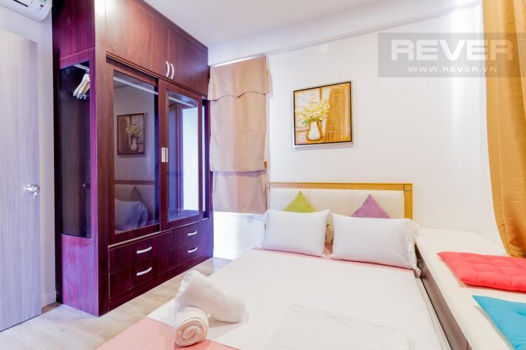 Phòng Ngủ 3 Căn hộ Icon 56 3 phòng ngủ tầng trung đầy đủ nội thất