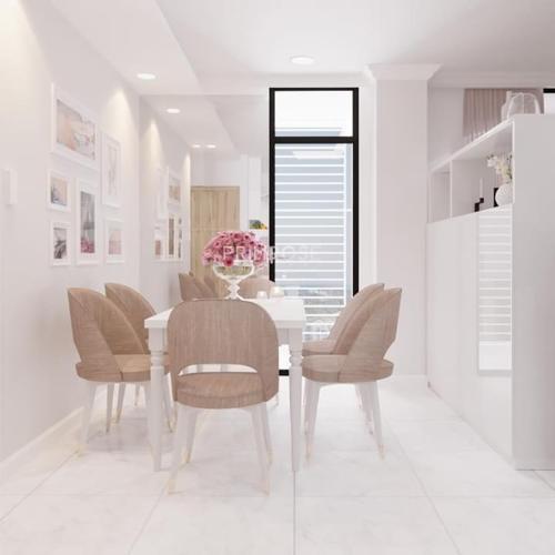 Không gian căn hộ Riva Park , Quận 4 Căn hộ Riva Park tầng 8 cửa chính hướng Tây Nam, đầy đủ nội thất.