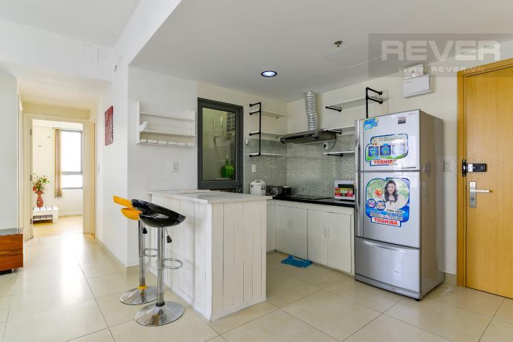 Nhà Bếp Cho thuê căn hộ Masteri Thảo Điền 2PN, tầng trung, tháp T3, đầy đủ nội thất, view hồ bơi