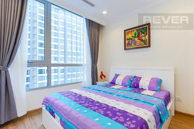 Phòng Ngủ Căn hộ Vinhomes Central Park tầng thấp, 1 phòng ngủ, view sông, full nội thất