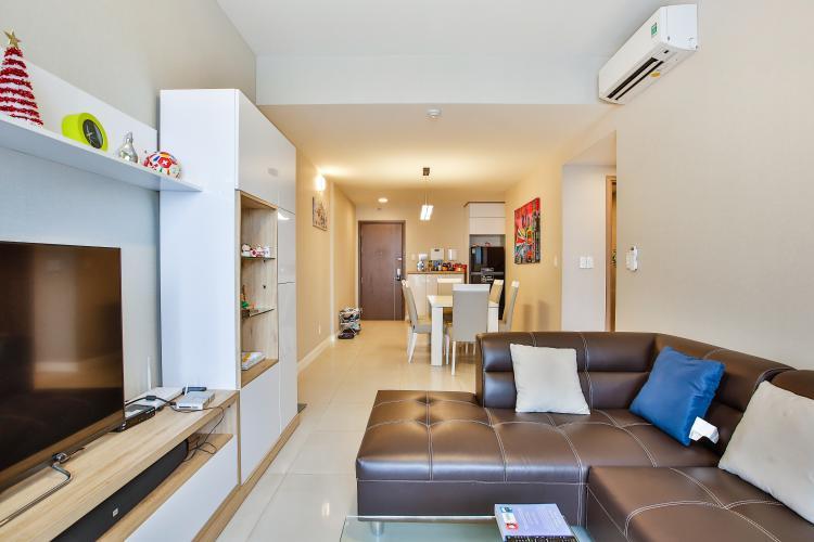 Phòng Khách Cho thuê căn hộ Lexington Residence tầng trung, 2PN, đầy đủ nội thất