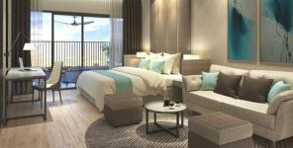 Bán căn hộ 3 PN River Panorama diện tích 90.4m2, thiết kế hiện đại và nội thất cơ bản.