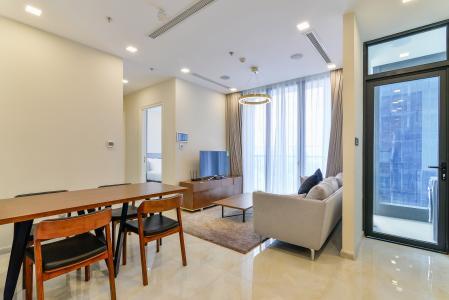 Căn hộ Vinhomes Golden River tầng cao, 2PN, đầy đủ nội thất, view sông thoáng đãng
