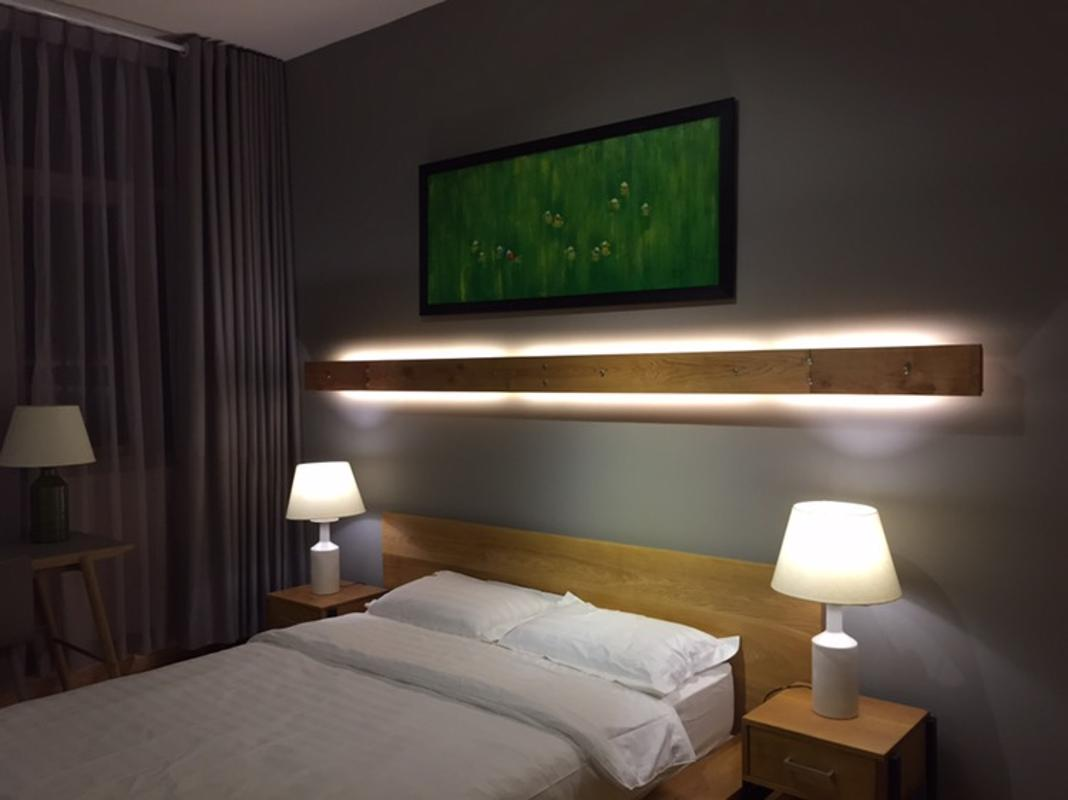 Phòng ngủ 1 Bán căn hộ The Vista An Phú 2PN, tháp T5, diện tích 101m2, đầy đủ nội thất, view sông Sài Gòn