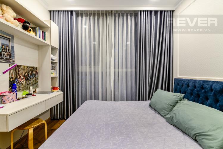 Phòng Ngủ 3 Căn hộ Vinhomes Central Park 3PN đầy đủ nội thất, view hồ bơi