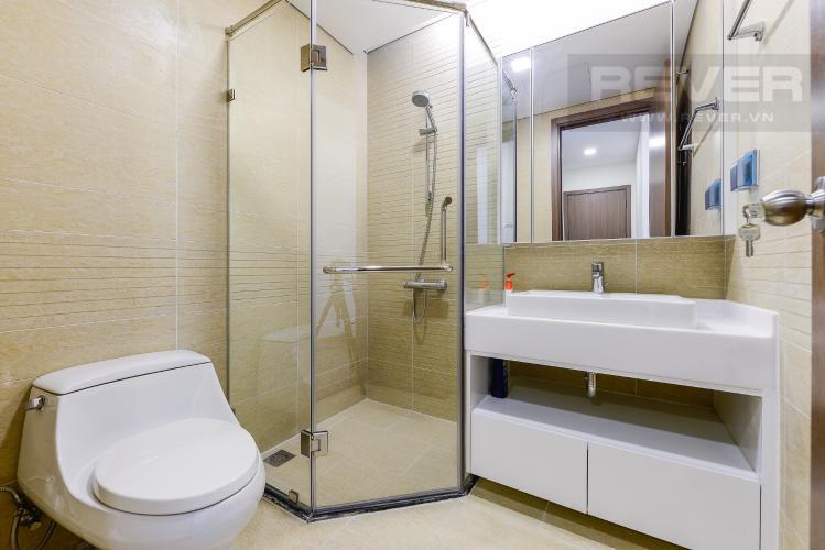 Phòng tắm 2 Căn hộ Vinhomes Central Park 2 phòng ngủ tầng trung P3 hướng Tây