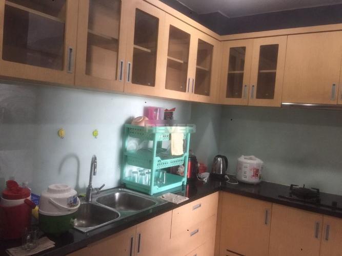 Phòng bếp căn hộ Him Lam Chợ Lớn Căn hộ Him Lam Chợ Lớn tầng thấp đầy đủ nội thất, hướng Tây.