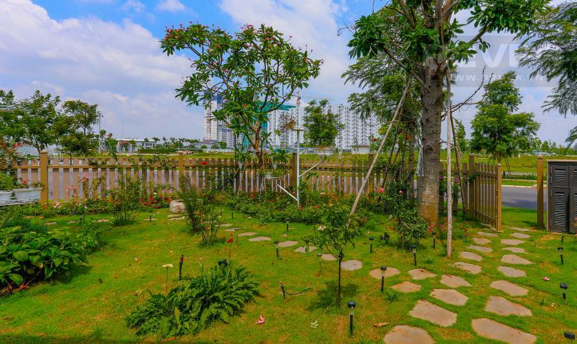 Sân Sau Biệt thự 5 phòng ngủ dự án Valora Kikyo diện tích 290m2