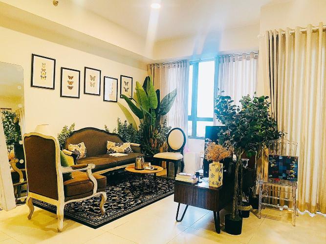 Phòng khách căn hộ Masteri Thảo Điền Căn hộ Masteri Thảo Điền view sông, đầy đủ nội thất.