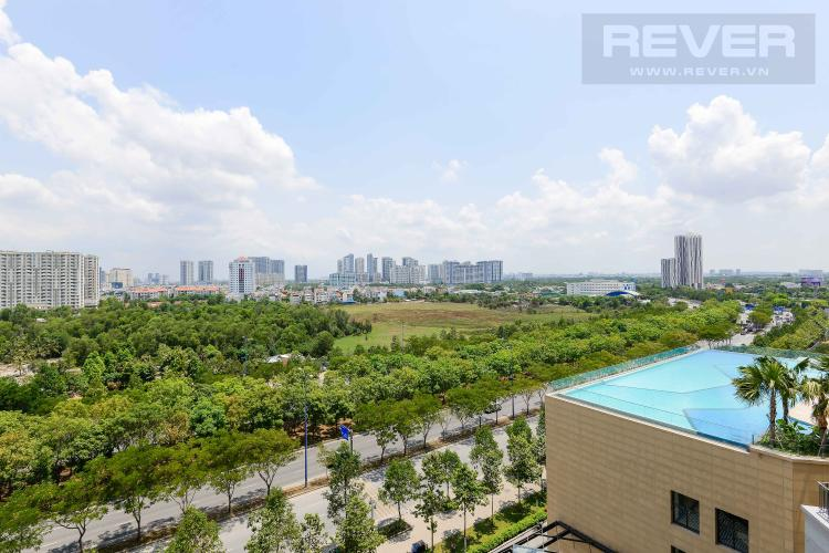 View Cho thuê căn hộ The Sun Avenue 3PN, block 3, diện tích 90m2, đầy đủ nội thất, view đại lộ Mai Chí Thọ