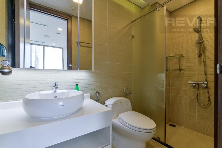Phòng Tắm 1 Cho thuê căn hộ Vinhomes Central Park 2PN tầng cao tháp Park 6, đầy đủ nội thất, view sông mát mẻ