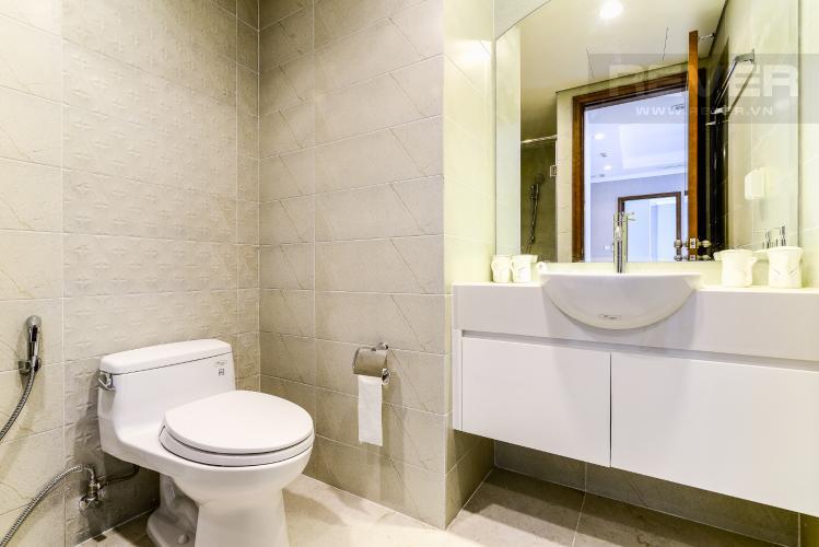 Phòng Tắm 1 Căn hộ Vinhomes Central Park 2 phòng ngủ tầng cao C2 nhà trống