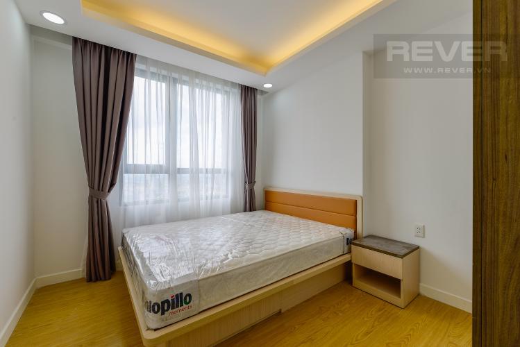 phòng ngủ 2 Căn hộ Masteri Thảo Điền tầng cao T1 view về sông và khu Thảo Điền