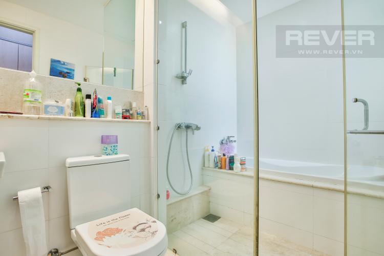 Toilet 2 Căn hộ The Estella Residence 3 phòng ngủ tầng cao 1A view hồ bơi