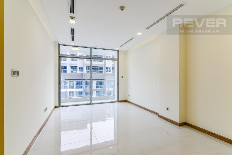 Phòng Khách Căn hộ Vinhomes Central Park tầng cao Park 5 nội thất cơ bản