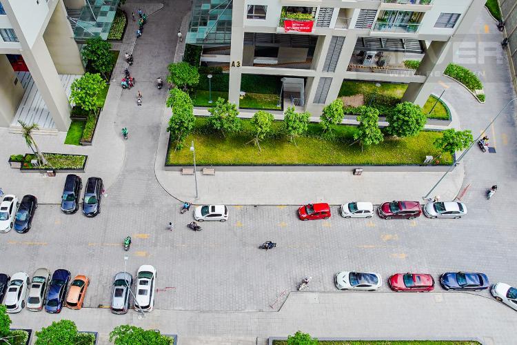 View Cho thuê căn hộ The Gold View 2PN, tháp B, nội thất cơ bản, view rạch Bến Nghé