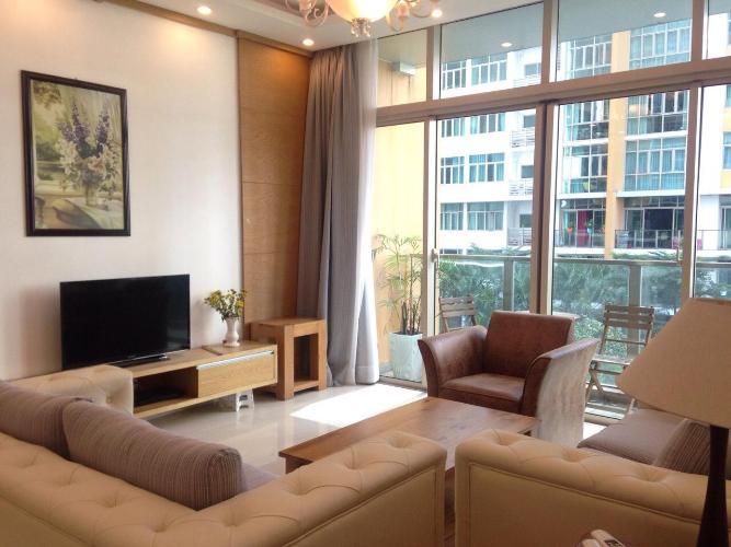 Cho thuê căn hộ The Vista An Phú 3PN, tầng thấp, đầy đủ nội thất, hướng ban công Đông Nam nhìn ra hồ bơi