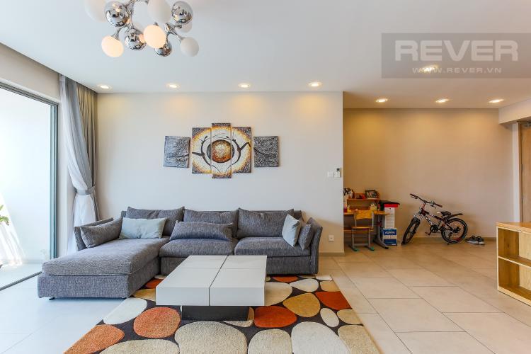 Phòng Khách Căn hộ The View Riviera Point 2 phòng ngủ tầng cao T5 nội thất đầy đủ