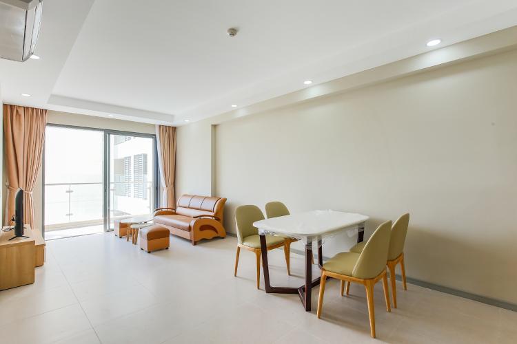 Căn hộ The Gold View 2 phòng ngủ tầng trung A2 view hồ bơi