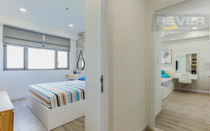 Phòng Ngủ Căn hộ Happy Residence 2 phòng ngủ tầng trung tháp B nội thất đầy đủ