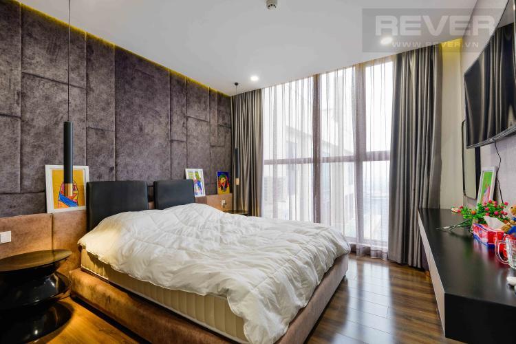 Phòng Ngủ 1 Bán penthouse Masteri Millennium 3PN, diện tích 222m2, đầy đủ nội thất, view sông và Bitexco