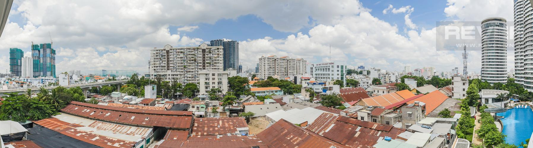 View Bán hoặc cho thuê căn hộ City Garden 1PN, tầng thấp, diện tích 65m2, đầy đủ nội thất