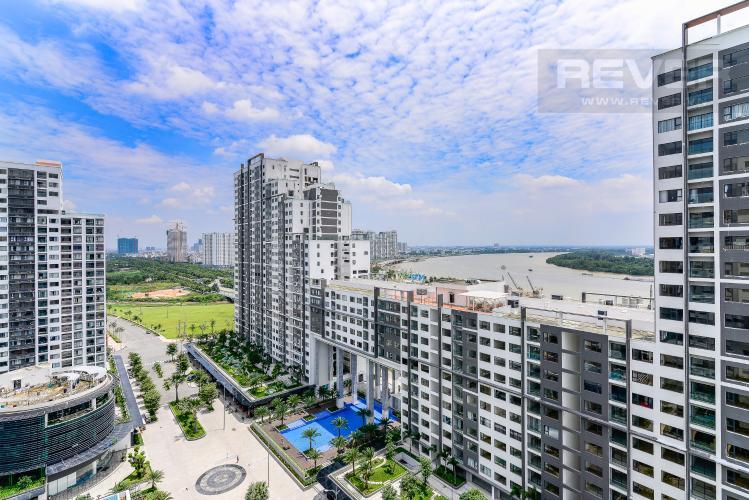 View Cho thuê căn hộ New City Thủ Thiêm 2PN, đầy đủ nội thất, view hồ bơi