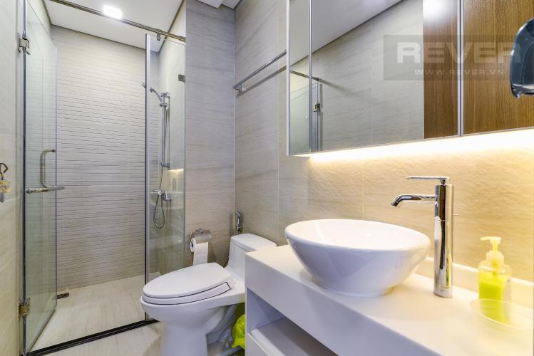 Phòng Tắm 1 Cho thuê căn hộ Vinhomes Central Park tầng trung tháp Park 5, 2PN 2WC, đầy đủ nội thất