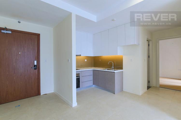 Phòng Bếp Cho thuê căn hộ Masteri Millennium tầng trung, 2PN, có ban công