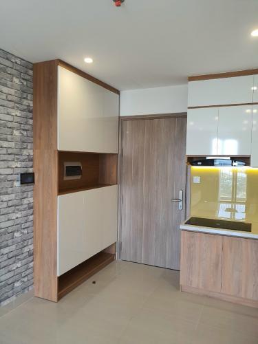 Nhà bếp căn hộ Vinhomes Grand Park Căn hộ Vinhomes Grand Park tầng 24 nội thất đầy đủ, 3 phòng ngủ.