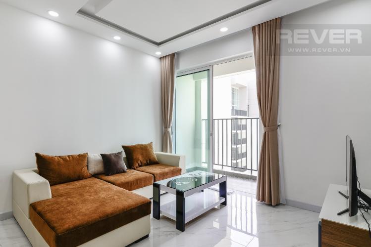 Phòng Khách Căn hộ Vista Verde 2 phòng ngủ tầng cao T2 đầy đủ nội thất
