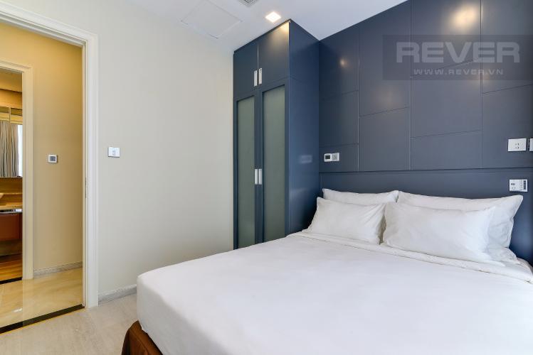 Phòng Ngủ 2 Căn hộ Vinhomes Golden River tầng cao, 2PN 1WC, nội thất đầy đủ, view sông