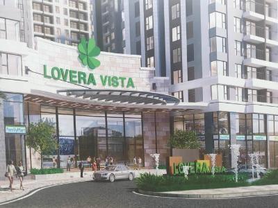 Bán căn hộ Lovera Vista 2PN, tầng thấp, diện tích 65m2, nội thất cơ bản, view Quận 5 và Quận 8