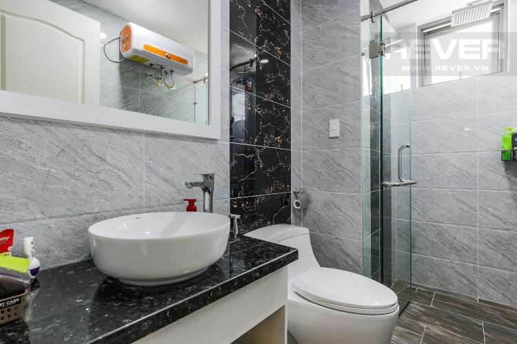 Phòng Tắm 2 Căn hộ The Gold View 3 phòng ngủ tầng cao A3 nội thất đầy đủ