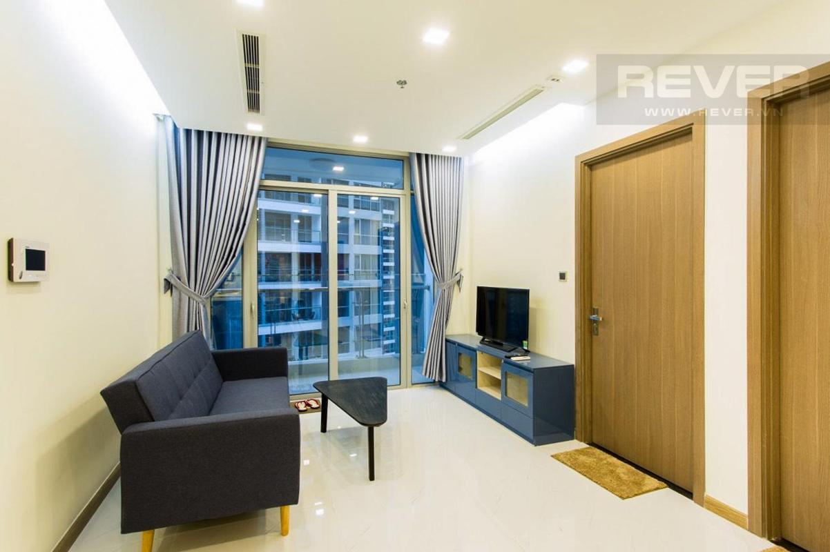 b9e4e6b01e34f86aa125 Bán căn hộ Vinhomes Central Park 1PN, tháp Park 7, đầy đủ nội thất, view nội khu yên tĩnh
