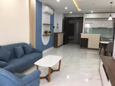 Cho thuê căn hộ Phú Mỹ Hưng Midtown 2PN, diện tích 89m2, đầy đủ nội thất, ban công Đông Nam