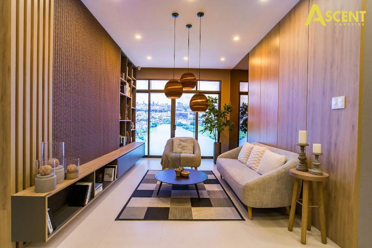 Phòng bếp căn hộ Ascent Lakeside, Quận 7 Căn hộ Ascent Lakeside view tầng cao thoáng mát, nội thất cơ bản.