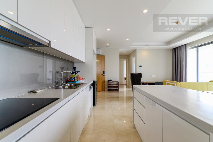 Nhà Bếp Cho thuê căn hộ Diamond Island - Đảo Kim Cương 2PN, đầy đủ nội thất, view sông Sài Gòn thoáng mát