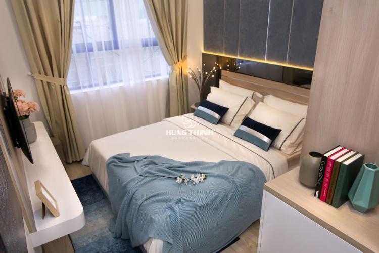 Nội thất phòng ngủ master Bán căn hộ tầng cao Q7 Saigon Riverisde, ban công hướng Tây Bắc.