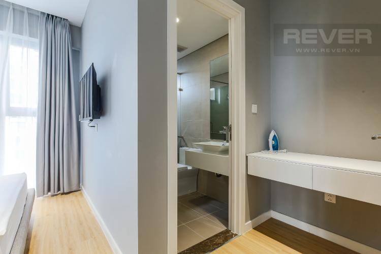 Phòng Tắm 1 Căn hộ Masteri Millennium tầng cao view sông, 2PN đầy đủ nội thất