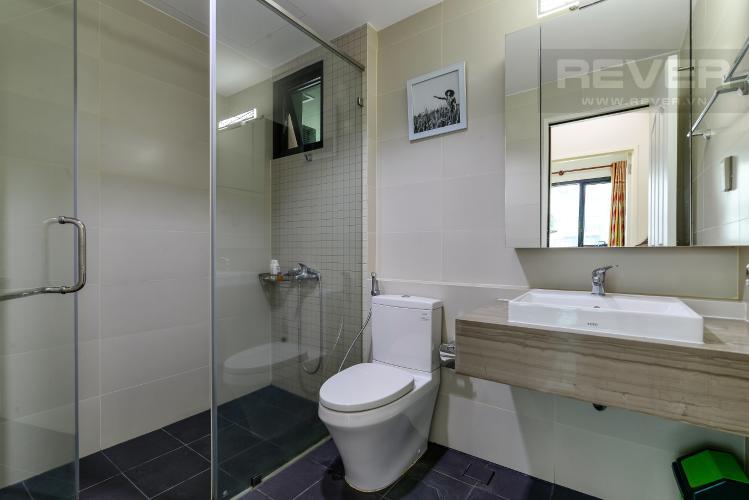 Phòng Tắm 1 Cho thuê căn hộ The Ascent 2PN, tầng thấp, đầy đủ nội thất, view hồ bơi và Landmark 81